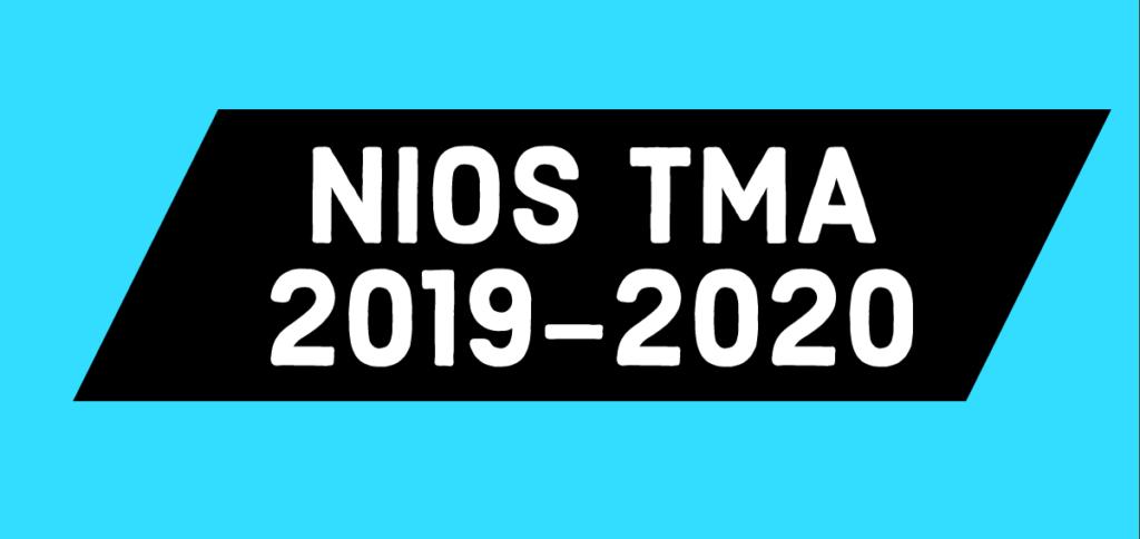 NIOS Solved TMA class 10
