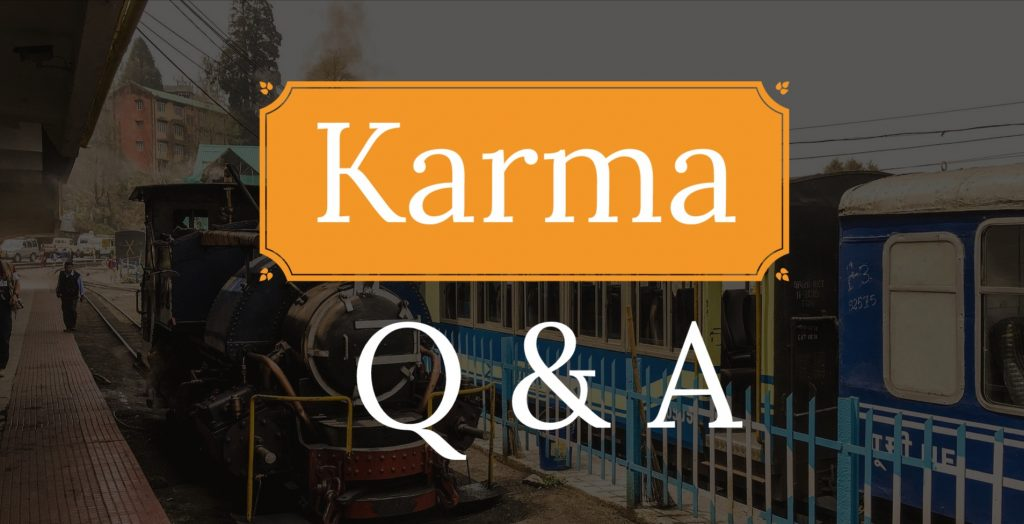 Karma important question and answer
