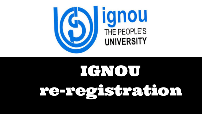 IGNOU re-registration