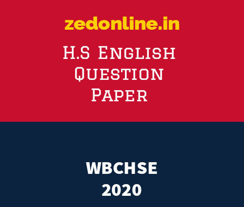 hs english question paper 2020