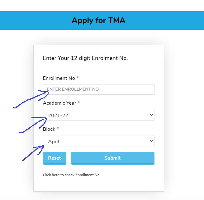 NIOS TMA late fee