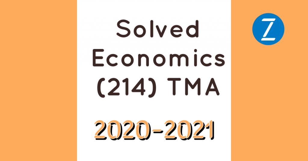 NIOS economics solved assignment (TMA)